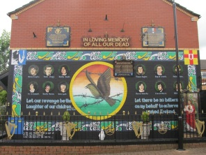 "Belfast - ""Ardoyne republican memorial"""