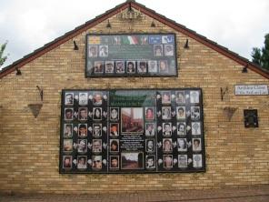 Belfast - Memorial Plaque in Ardoyne