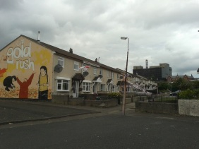 "Belfast - ""69 Gold rush in Shankill road"""