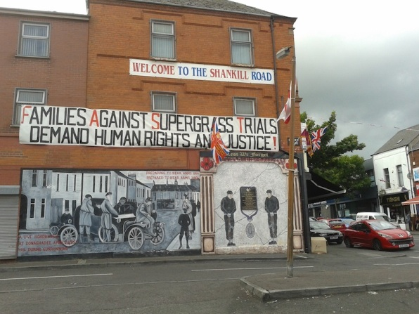 "Belfast - ""Preparing to bear arms in 1914 preparing to bear arms in 2004"""