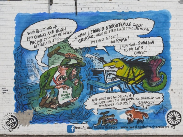 "Belfast - ""Antirascist mural"""