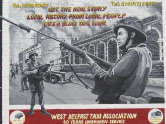 "Belfast - ""West Belfast taxy tour"""