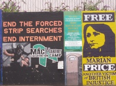 "Belfast - ""End strip searches end internement"""