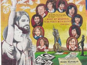 "Belfast - ""Hunger strikers"""