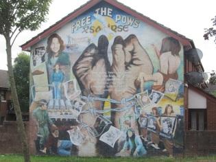 """Belfast - """"Libertà per i prigionieri politici"""""""