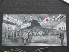 "Belfast - ""Ardoyne support Irish lenguage"""