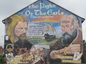 "Belfast - ""The flight of the Earls"""