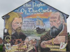 "Belfast - ""The flight of the Earls"""