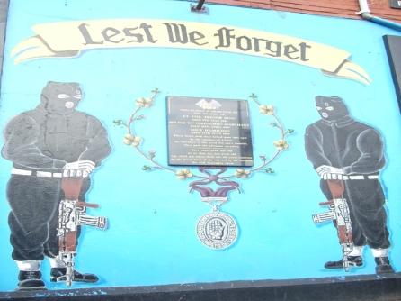 Belfast - UVF Memorial