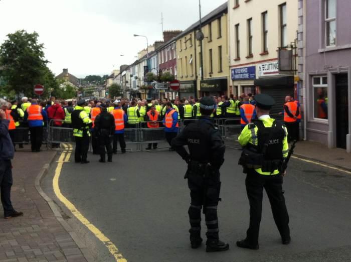 Castlederg IRA commemoration