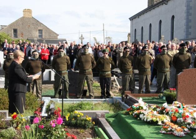Joe O'Neill funeral