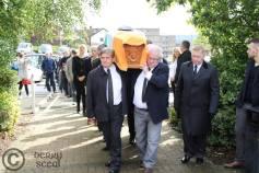 Tony Catney funeral 13/08/2014