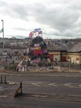 15th August Bogside Bonfires