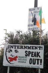 internment board a Creggan