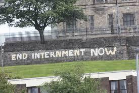 End Internment graffiti