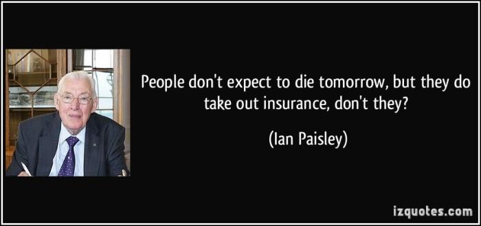 Ian Paisley quotes