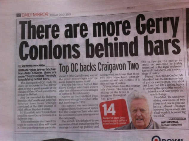 justice for craigavon tw0