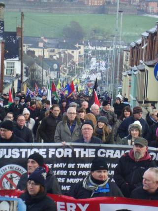 Bloody Sunday, March for Justice 1 Febbraio 2015