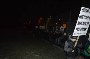 Maghaberry Irpwa protest 02.02.2015