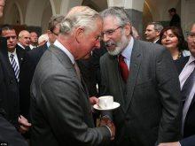 Gerry Adams and Prince Charles