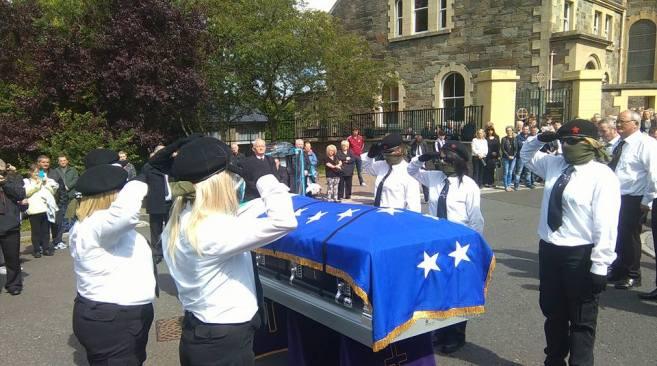 Peggy O'Hara funeral