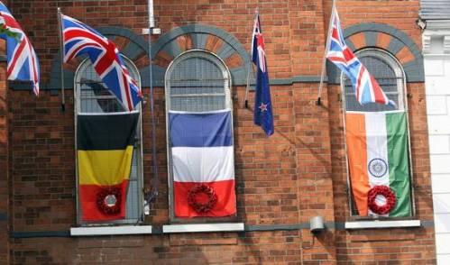 Union Flag in Ormeau Road