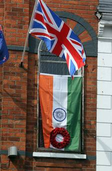 Union Flag in Ormeau Road