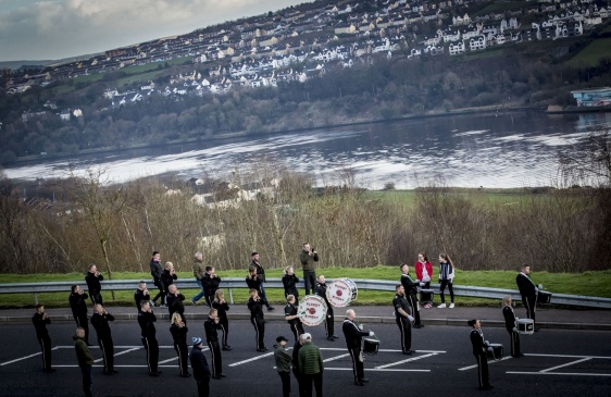 A Bloody Sunday commemoration march takes place in the Creggan area of Derry on January 27th 2019 (Photo by Kevin Scott for Belfast Telegraph)