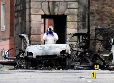 derry carbomb attack