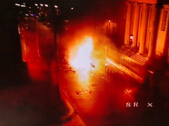 derry car bomb explosion