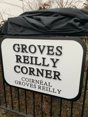 groves reilly corner plaque