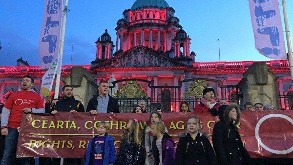 Irish Language Act Protest
