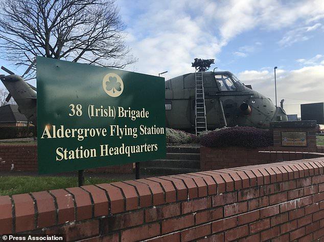 Gate Guardian at Aldergrove Flying Station