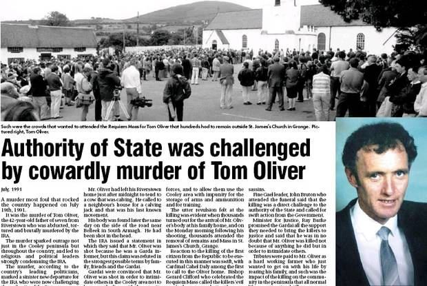 Murder of Thomas Oliver