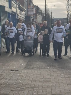 Activists with the Time For Truth campaign canvassed the Ormeau Road in south Belfast for mechanisms to deal with Northern Ireland's troubled past