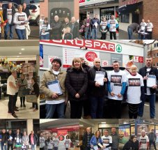 Demonstrations across Belfast call for Troubles legacy to be addressed Activists with the Time For Truth campaign canvassed the Ormeau Road in south Belfast for mechanisms to deal with Northern Ireland's troubled past