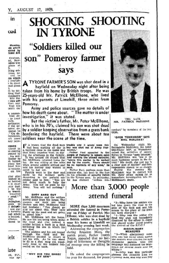Key evidence in Pomeroy killing not put before court - Ulster Herald3