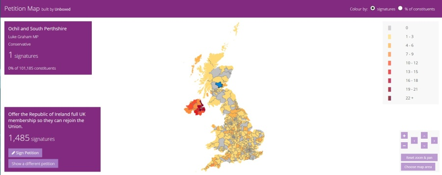 petition map