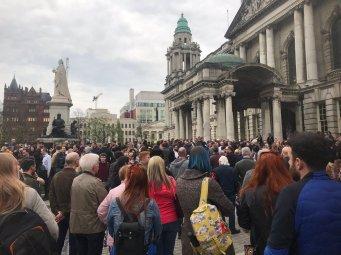 Belfast vigil 12