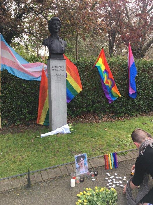 Dublin Lyra McKee vigil 3