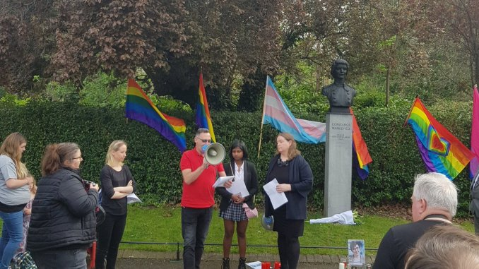 Dublin Lyra McKee vigil 5