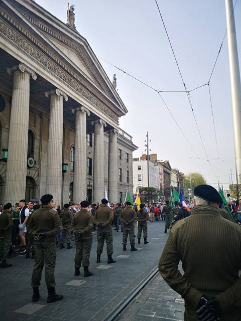 Saradh GPO Dublin Easter commemoration 2019