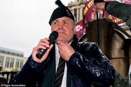 Soldier F rally Belfast City Hall 3