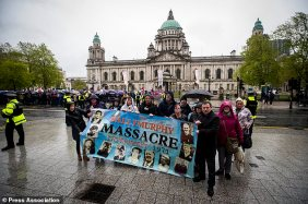 Soldier F rally Belfast City Hall 4_ Ballymurphy