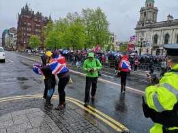 Soldier F rally Belfast City Hall 6