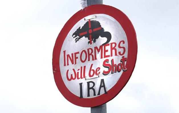 IRA graffiti Creggan