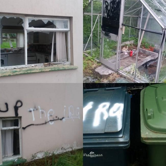 newtownbutler damage house