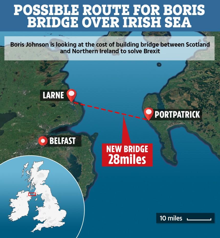 Boris Bridge Route